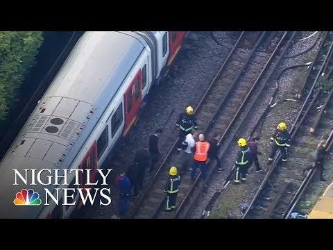 London Terror Attack: Massive Manhunt Underway | NBC Nightly News