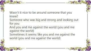 Charice - You and Me Against the World Lyrics