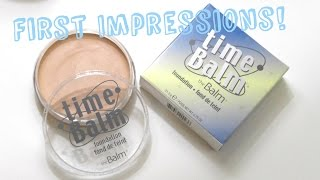 FIRST  IMPRESSIONS | theBalm