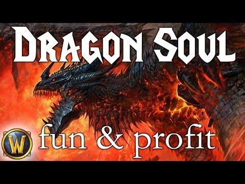 Dragon soul -  sólo - fun & profit 615g/35 minut (WoW)