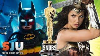 Wonder Woman and Batman Oscar Snubs - SJU