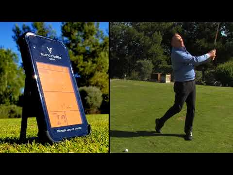 Swing Caddie SC100 Portable Golf Launch Monitor Video