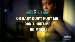 What Is Love : Haddaway | Karaoke With Lyrics
