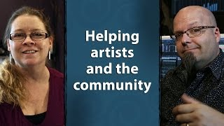 preview picture of video 'Helping Artists and the Community'