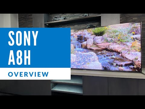 External Review Video krsakWOBPA8 for Sony A8H (A8) OLED TV (2020)