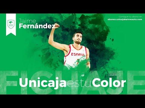 Jaime Fernández, talento y descaro para Unicaja de Málaga