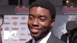 Interview - Chadwick Boseman à propos de Black Panther par MTV News