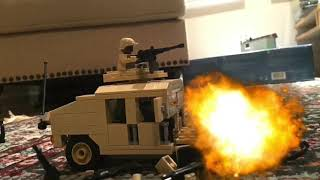 Legos vs Plastic Army Men