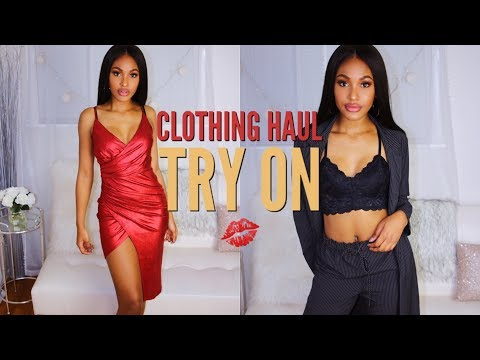 New Clothing Try On Haul Fashion Nova