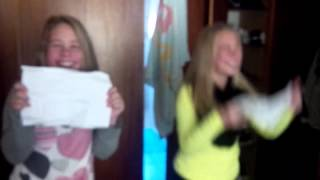 13 Year Old Twins get 1D tickets for Bday