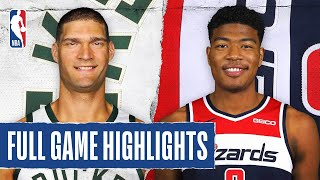 BUCKS at WIZARDS | FULL GAME HIGHLIGHTS | August 11, 2020