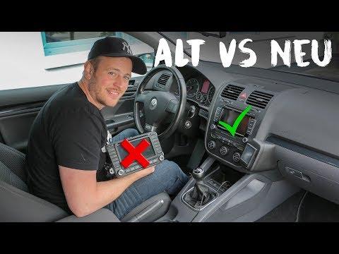 OK-Chiptuning - VW Golf 5 GT TDI | Das Navi und der Umbau....
