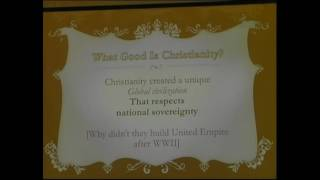 Vishal Mangalwadi on WHAT GOOD IS CHRISTIANITY?(Family Voice#1). Part 3