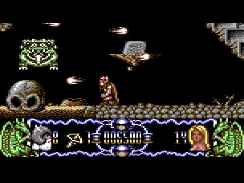 Deliverance: Stormlord II Longplay (C64) [QHD]