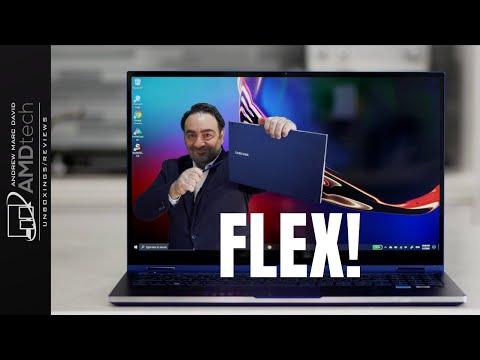 External Review Video krxtlIWf97E for Samsung Galaxy Book Flex 13 / 15 2-in-1 Laptop
