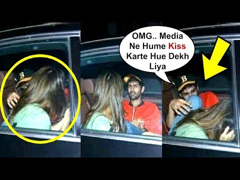 Sara Ali Khan And Kartik Aryaan Caught Kissing In Car