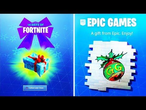 New 14 Days Of Fortnite Rewards All Fortnite Battle Royale Free