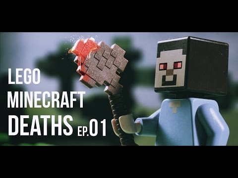 LEGO MINECRAFT DEATHS  | EP.01