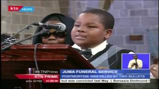 The widow of Jacob Juma has accused police of dragging their feet in the hunt for Juma's killers