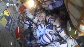 Journey to the ISS/ Полёт к МКС и посадка.