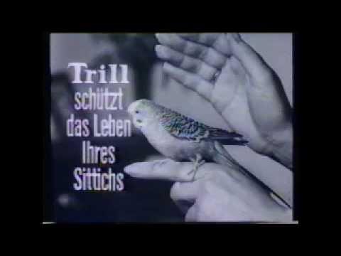 """Alter Werbespot  1965  """" Trill Sittichfutter"""""""