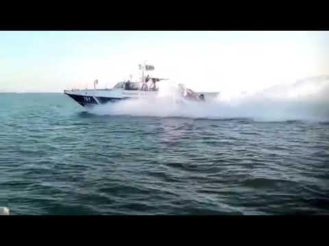 Украинский катер в Азовском море перехватили российские пограничники