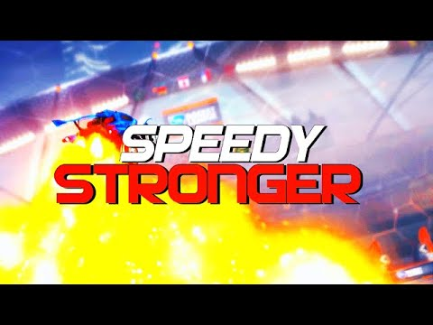 SPEEDY - STRONGER (BEST GOALS, DOUBLE TOUCHES, REDIRECTS, DRIBBLES)