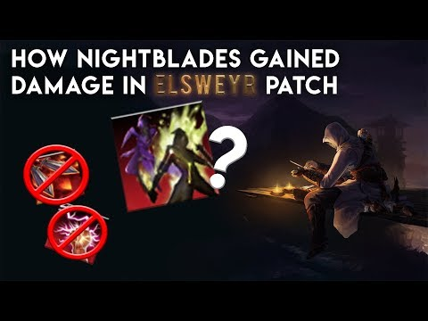 How Nightblades Gained Damage in Elsweyr Patch - Guide to