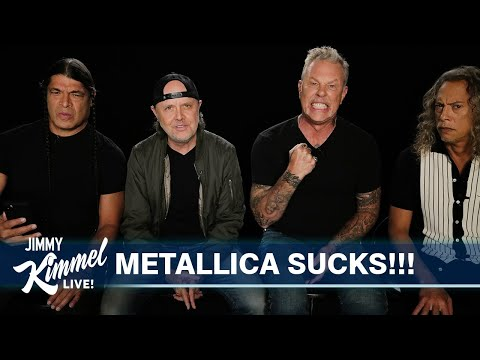 Metallica Reads 1-Star Reviews of the Black Album
