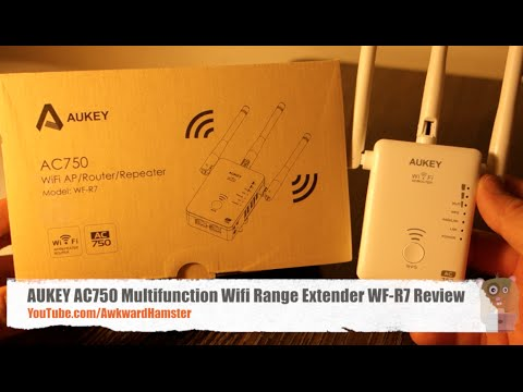 AUKEY AC750 Multifunction Wifi Range Extender WF-R7 Review