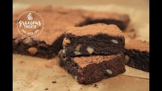 easy chocolate brownie recipe without vanilla extract