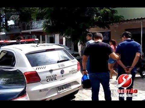 Quadrilha é presa em Barra de Santana, no Cariri da Paraíba VDownloader