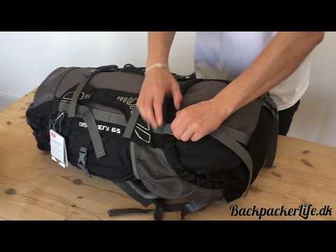 Gennemgang af vandrerygsæk - Discovery 65 liter fra Highlander