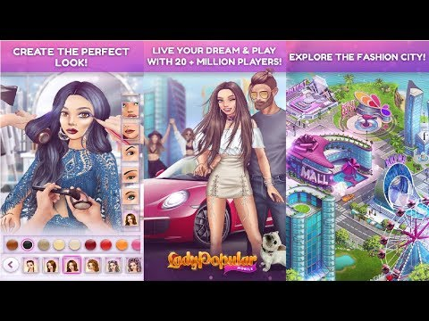 Lady Popular: Fashion Arena Android Gameplay