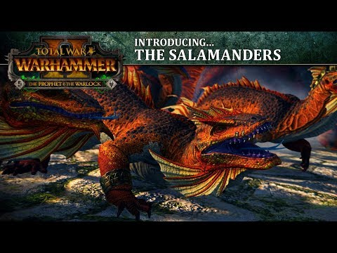 Total War: WARHAMMER 2 - Introducing... the Salamanders