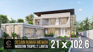 Video Desain Rumah Modern 2 Lantai Bapak Dicky di  Palu, Sulawesi Tengah