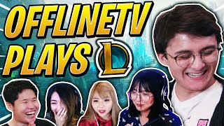 OFFLINETV plays League of Legends ft. LilyPichu, Yvonnie, Michael Reeves, xChocoBars