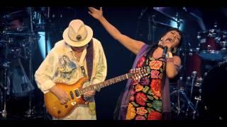 "Santana's ""Una Noche en Napoles"" ft. Lilla Downs, Soledad and Niña."