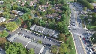 Flying Drone over Germantown, MD
