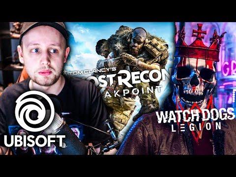 UBISOFT KONFERENCE: Watch Dogs 3, Ghost Recon: Breakpoint (Agraelus Reakce #7)