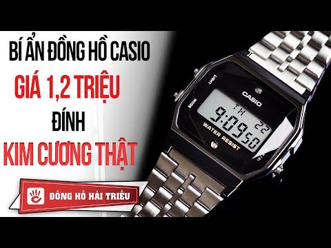 Bí ẩn chiếc đồng hồ Casio đính KIM CƯƠNG thật giá 1 triệu