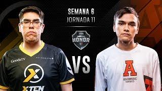 XTEN ESPORTS MX VS Anáhuac Esports | Jornada 11 | División de Honor 2019 - Clausura
