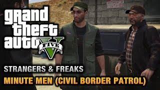 GTA 5 - Minute Men (Civil Border Patrol) [100% Gold Medal Walkthrough]