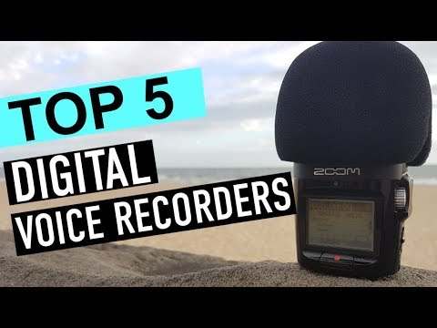 BEST 5: Digital Voice Recorders 2018