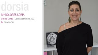 Rinoplastia - Testimonio Mª Dolores Soria - Clínica Dorsia Elche