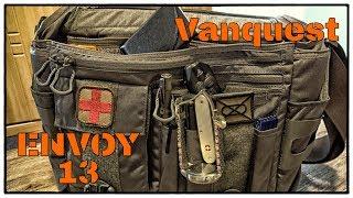 Vanquest ENVOY-13 (Gen4/Gray) Messenger Bag als neue everyday carry Tasche einrichten (2019)