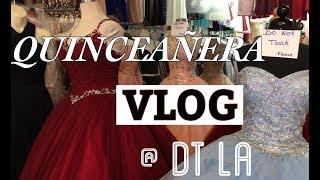 QUINCEANERA Dress Shopping | DT LA Pt. 1