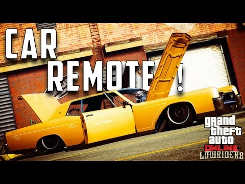 "How To Use ""CAR REMOTE"" On ANY CAR! Lowrider DLC Update 