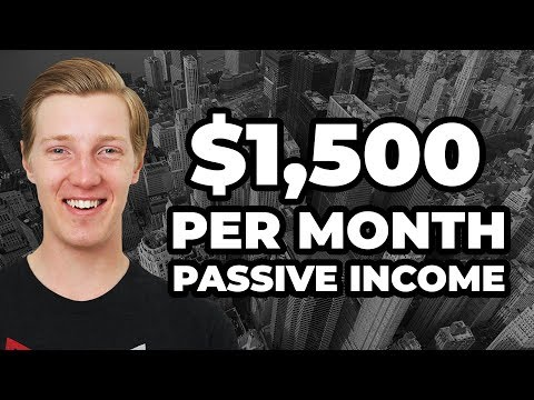 How I make $1500 of Passive Income Each Month