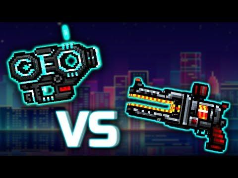 Pixel Gun 3D : LASER CYCLER [VS] THUNDERER